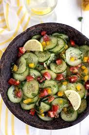 Lemon Cucumber Salad Recipe
