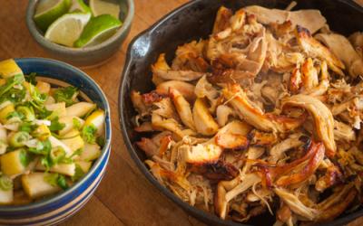 Crockpot Chicken Carnitas Recipe