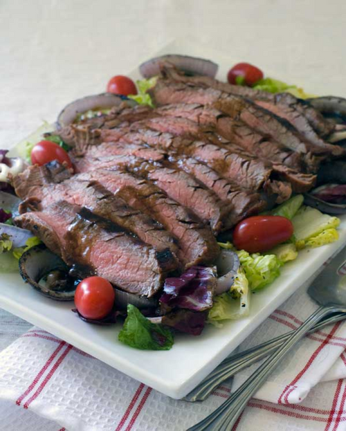 Sicilian Style Grilled Steak Recipe