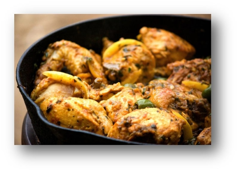Chicken with Preserved Lemons Recipe