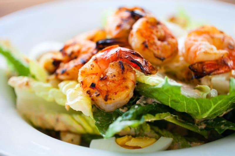 Grilled Spice Rubbed Shrimp Salad Recipe