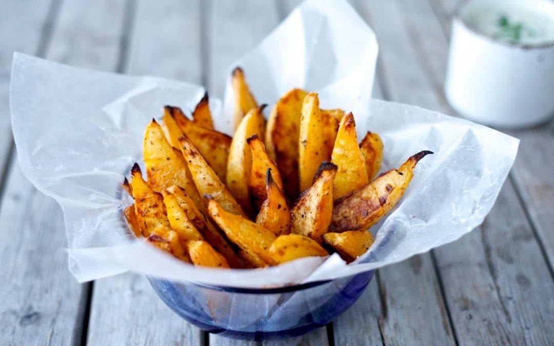 Crispy Rutabaga Fries Recipe