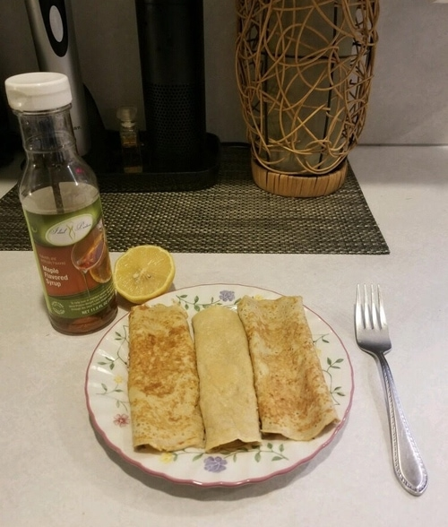Colette's Parisian Crepes Recipe