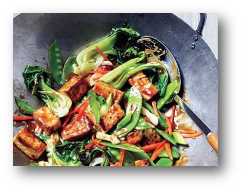 Stir Fry Vegetables and Tofu Recipe