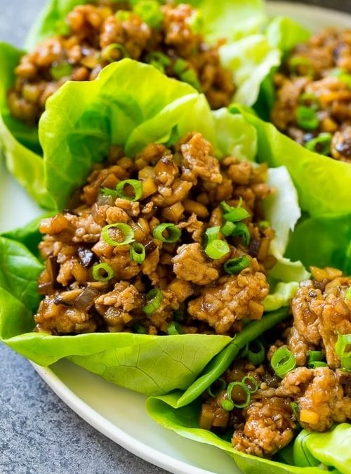 Curried Chicken Lettuce Cups Recipe