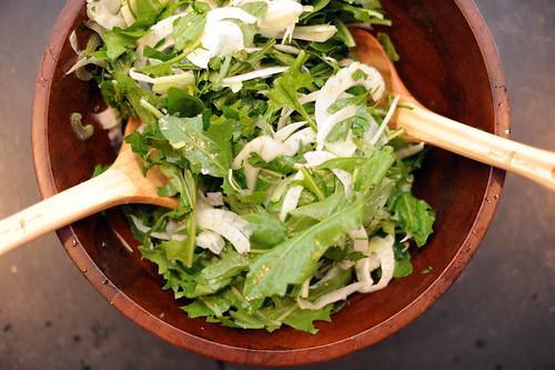 Spring Fennel & Arugula Slaw Recipe