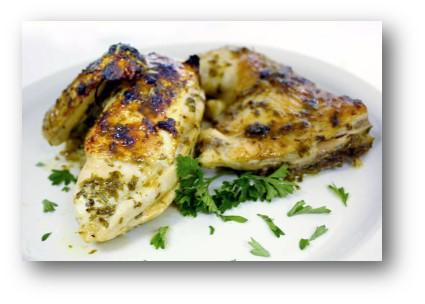 Garlic, Lemon and Herb Grilled Chicken Recipe