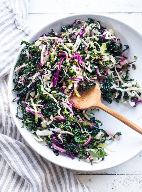 Black Kale Slaw Recipe