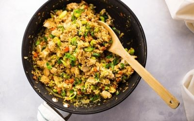 Chicken Cauliflower Fried Rice Recipe