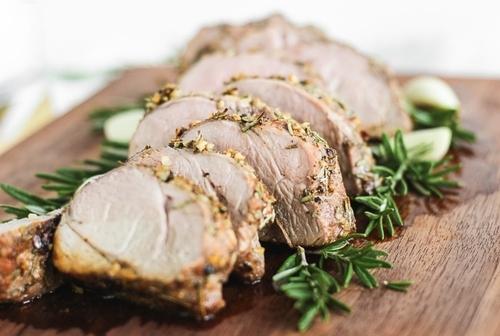 Garlic Rosemary Roasted Pork Tenderloin Recipe