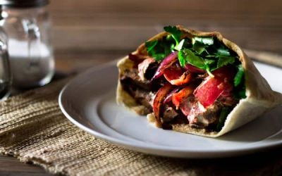 Beef Shawarma Sandwiches Recipe