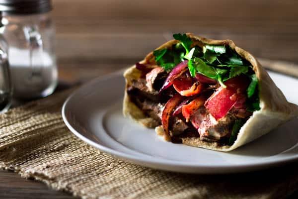 Beef Shawarma Sandwiches Recipe