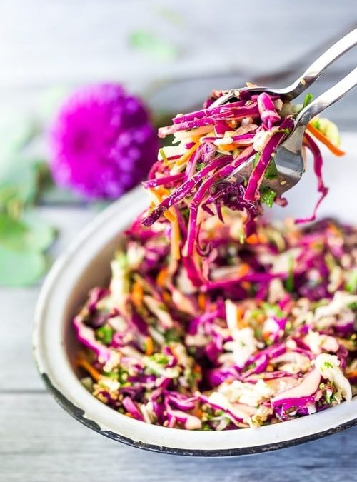 Crunchy Asian Slaw Recipe