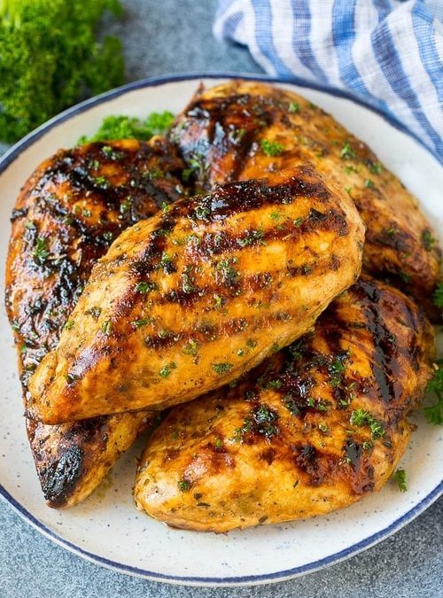 Asian Grilled Chicken Breasts Recipe