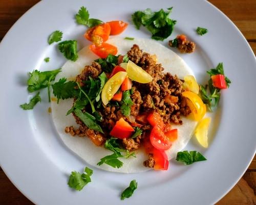 Tacos with Jicama Wraps Recipe